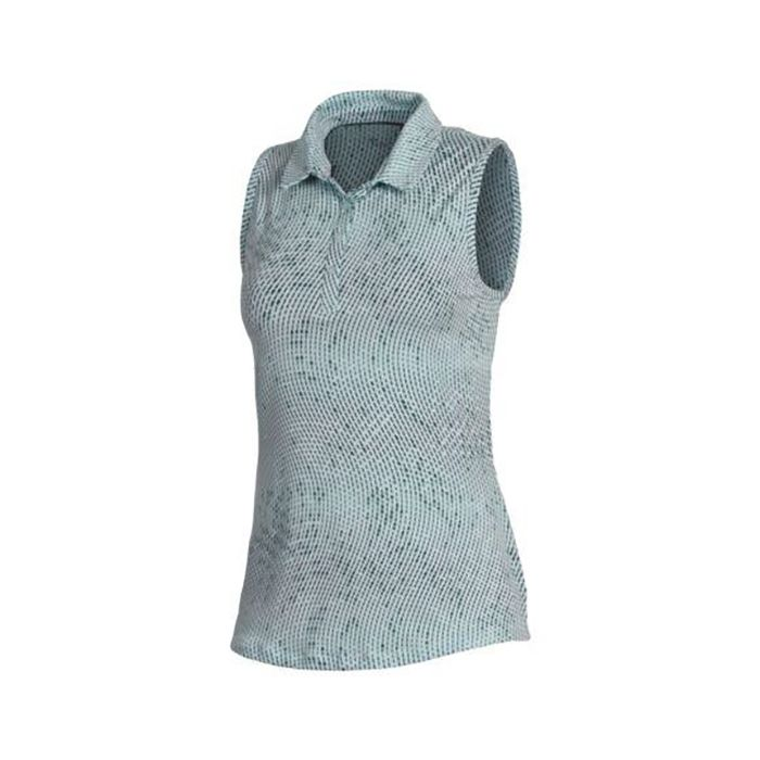 Under Armour Women's Zinger Winder Print Sleeveless Polo