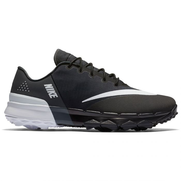 Nike Women's FI Flex Golf Shoes Black/White