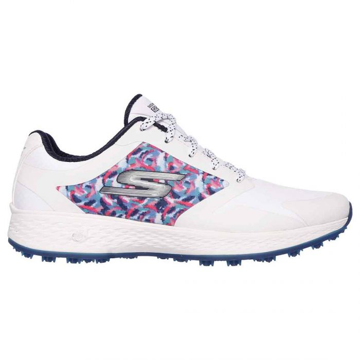 Skechers Women's GO GOLF Eagle Major Golf Shoes White/Navy