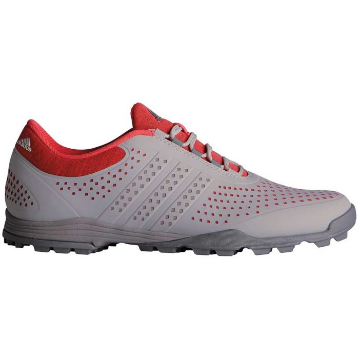 Adidas Women's AdiPure Sport Golf Shoes Grey/Coral