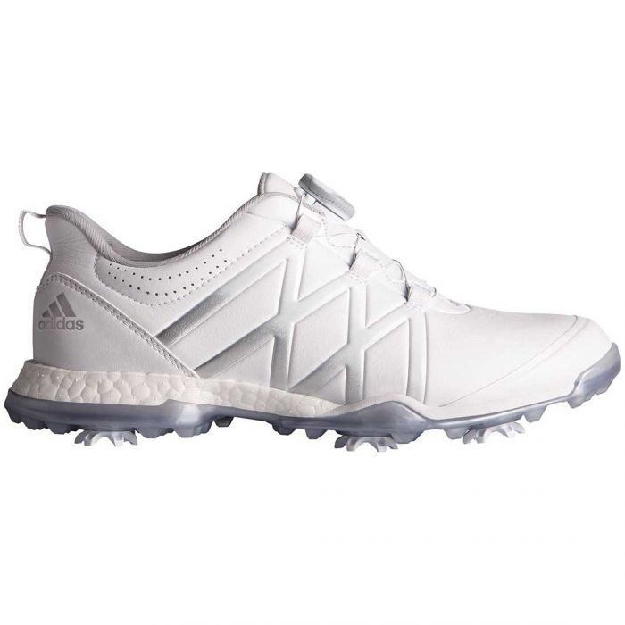 Adidas Women's AdiPower Boost Boa Golf Shoes White/Silver