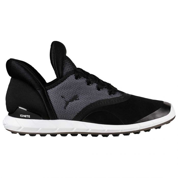 Puma Women's Ignite Statement Golf Shoes Black/White