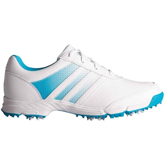 Adidas Women's Tech Response Golf Shoes White/Energy Blue