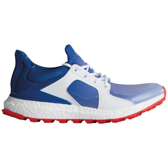 Adidas Women's Climacross Boost Limited Edition Red/White/Blue Golf Shoes