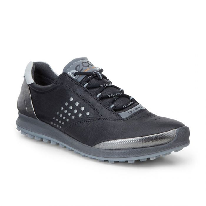 Ecco Women's BIOM Hybrid 2 Golf Shoes Black/Silver