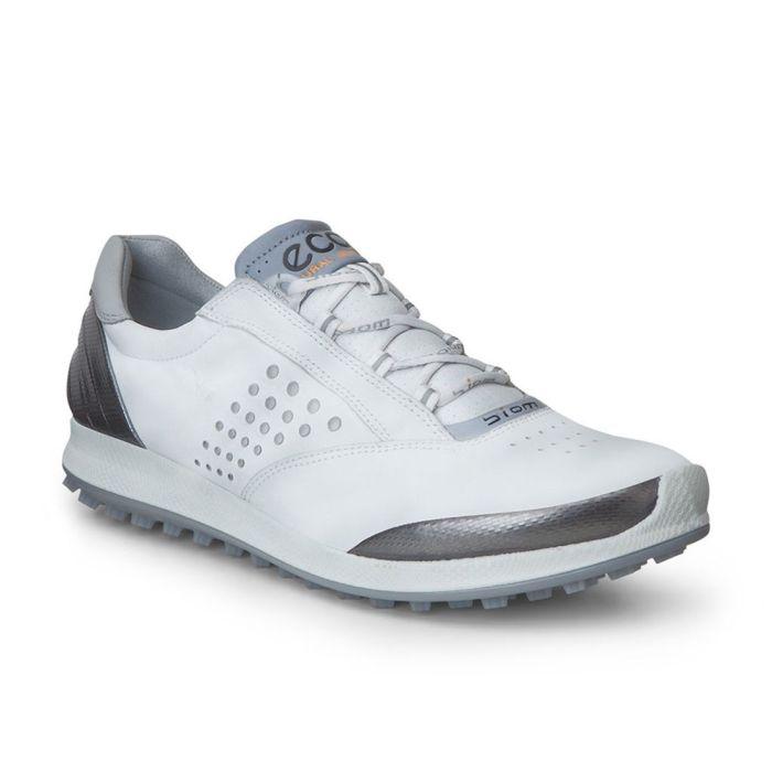 Ecco Women's BIOM Hybrid 2 Golf Shoes White/Silver