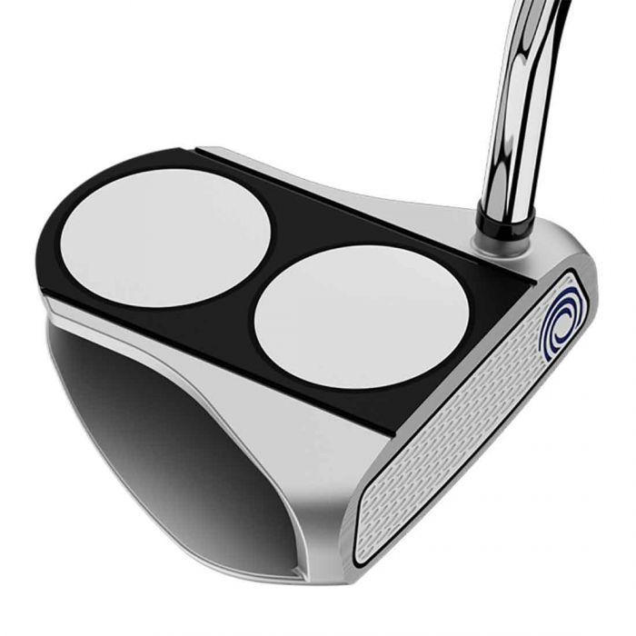 Odyssey White Hot RX 2-Ball V-Line Putter w/ SuperStroke Grip