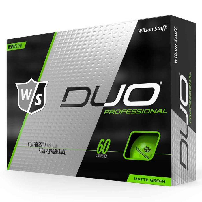 Wilson Staff DUO Professional Green Golf Balls
