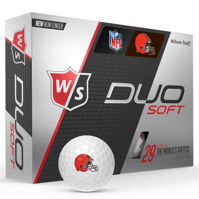 Wilson Staff DUO Soft NFL Golf Balls