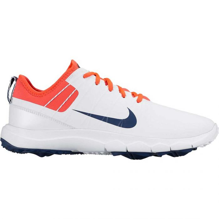 Nike Women's FI Impact 2 Golf Shoes White/Bright Crimson