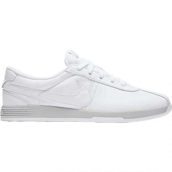 Nike Women's Lunar Bruin Golf Shoes White/Platinum