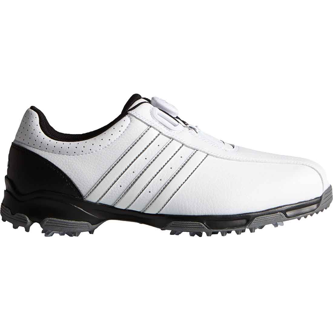 lazo Rango compacto  Buy Adidas 360 Traxion Boa Golf Shoes White/Black | Golf Discount