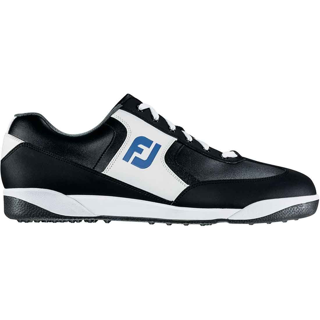 Buy Footjoy Greenjoys Spikeless Golf Shoes White Black Golf Discount