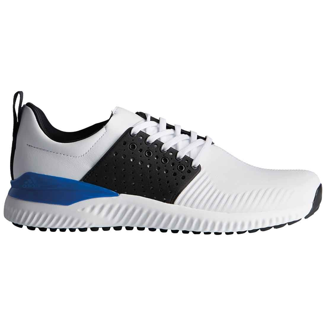 Arco iris carrera batalla  Buy Adidas AdiCross Bounce Golf Shoes White/Black/Blue | Golf Discount