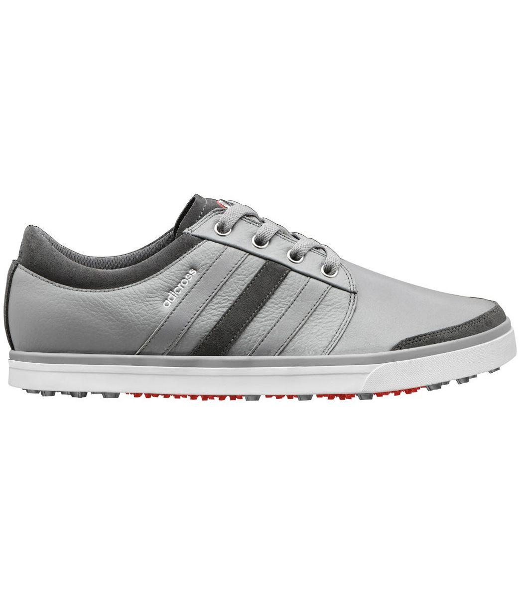 Buy Adidas adiCross Gripmore Golf Shoes Aluminum/White | Golf Discount