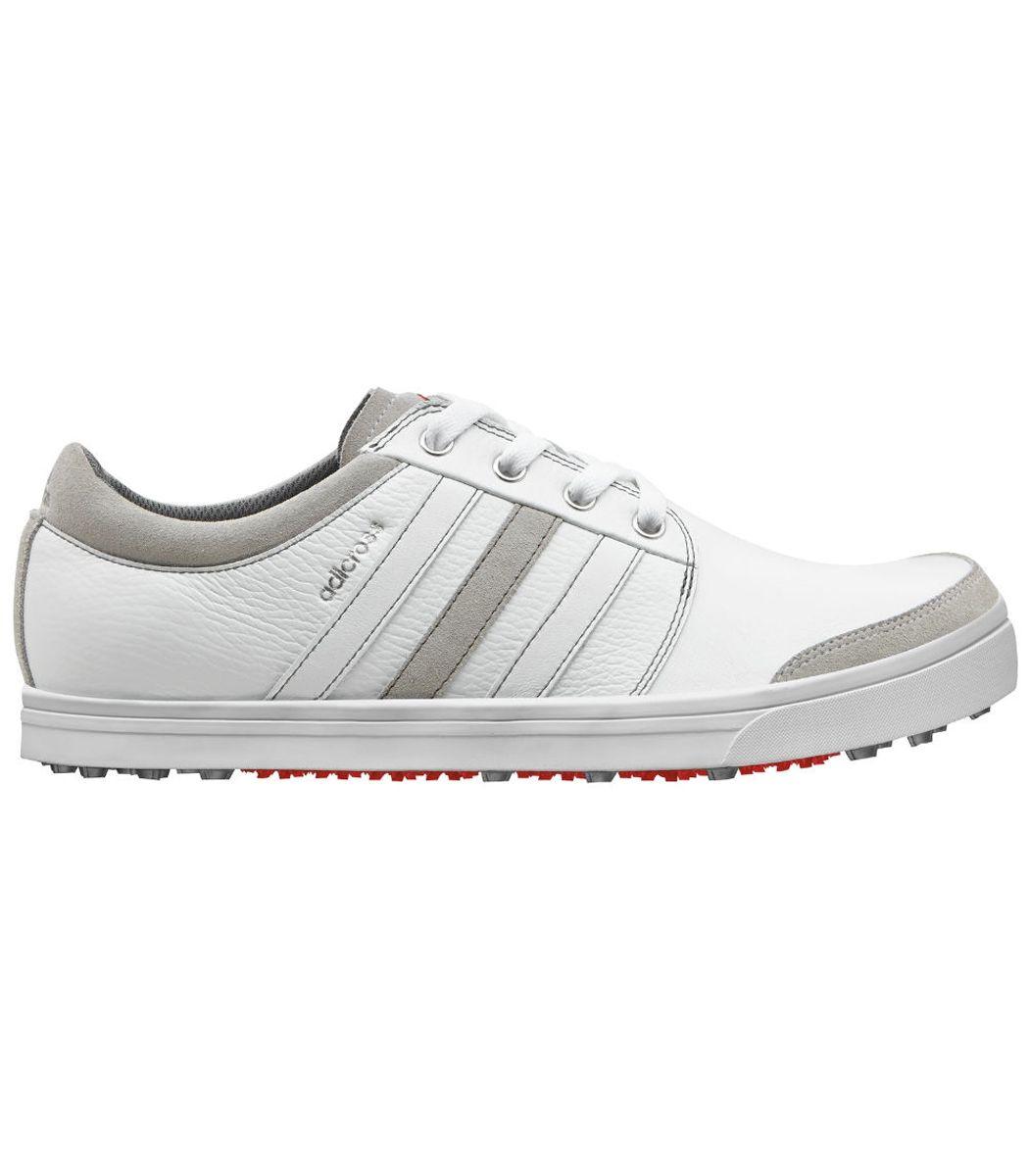 Buy Adidas adiCross Gripmore Golf Shoes White/Grey   Golf Discount