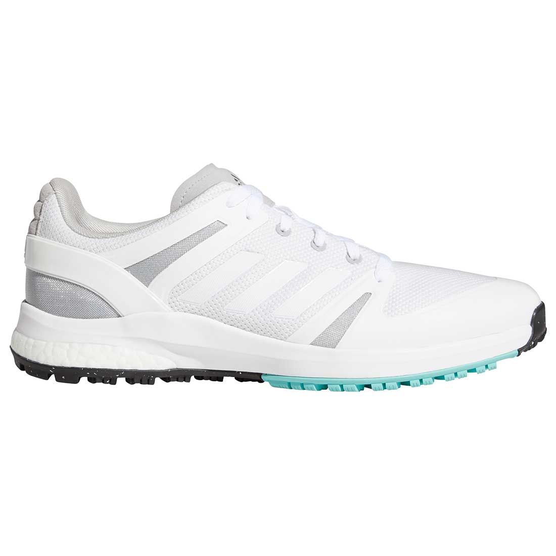 Adidas EQT Spikeless Golf Shoes White/Grey Two