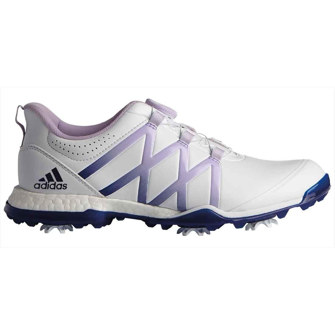 Buy Adidas Women's AdiPower Boost Boa Golf Shoes White/Purple Glow ...