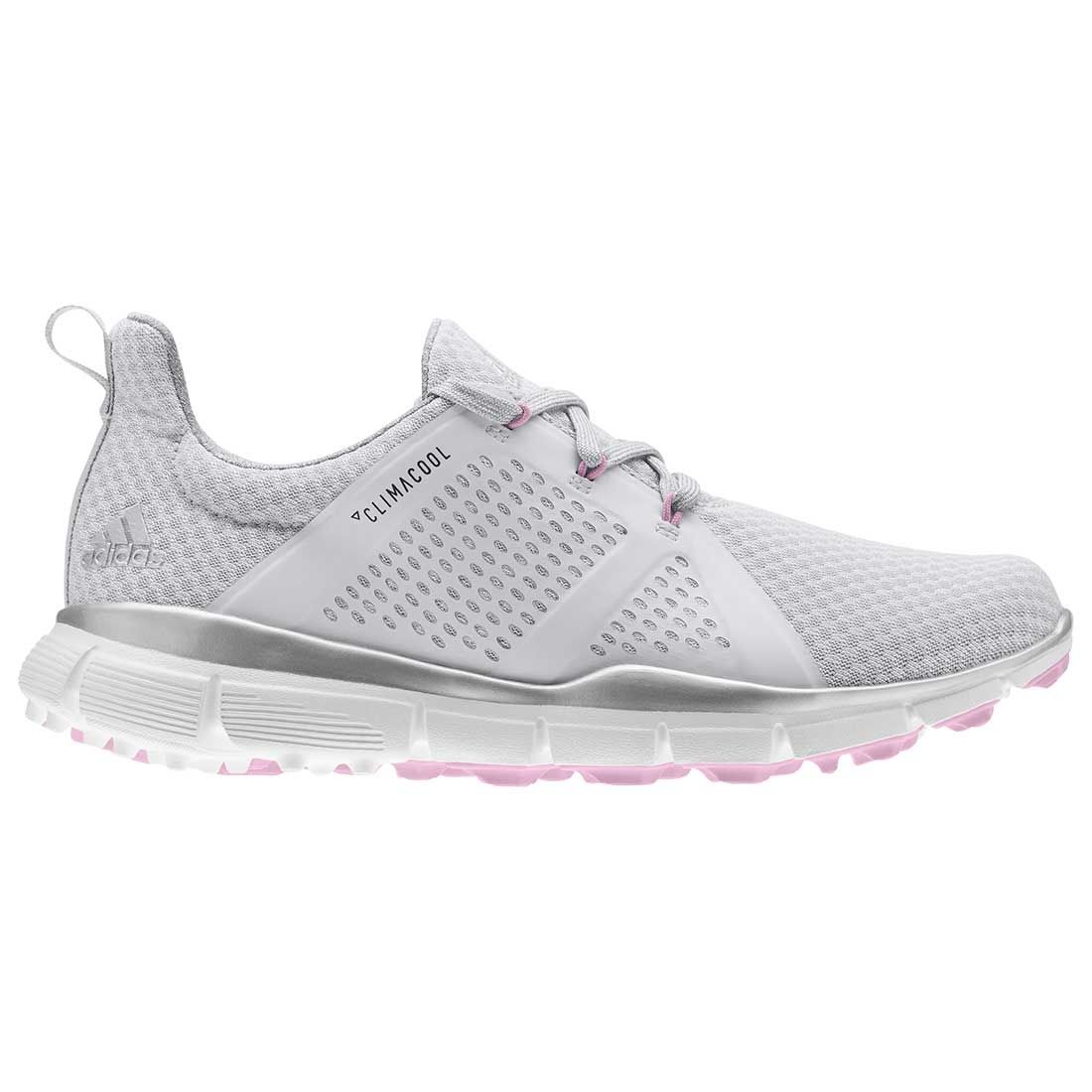 Buy Adidas Women's ClimaCool Cage Golf Shoes Grey/Silver/Pink ...