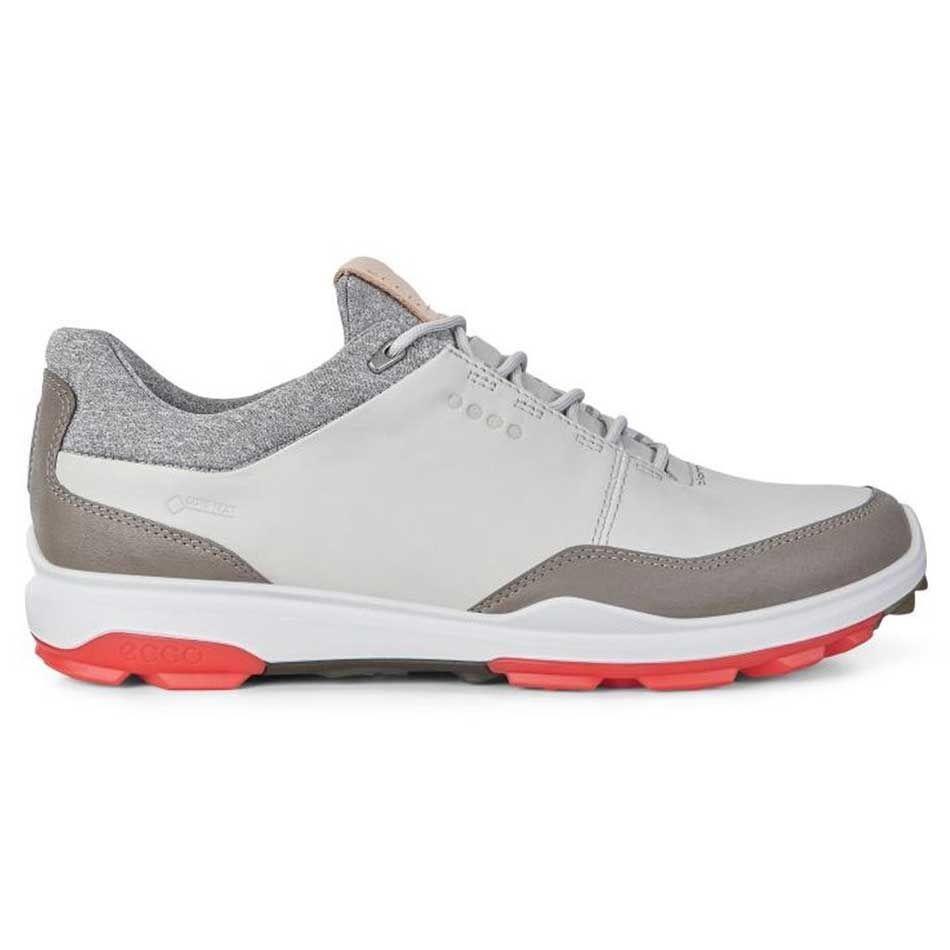 Buy Ecco Biom Hybrid 3 Gtx Golf Shoes Concrete Scarlet Golf Discount