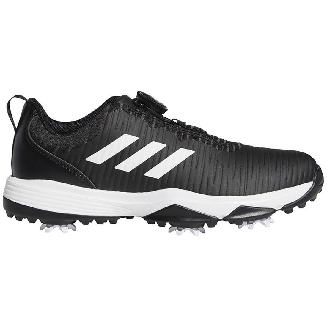 Adidas Juniors Codechaos BOA Golf Shoes Black/White/Blue