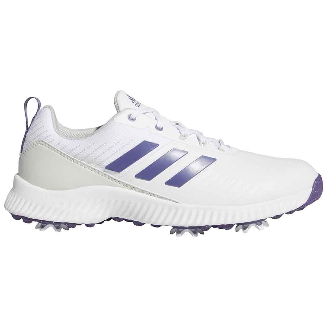 Buy Adidas Women S Response Bounce 2 0 Golf Shoes White Purple Golf Discount