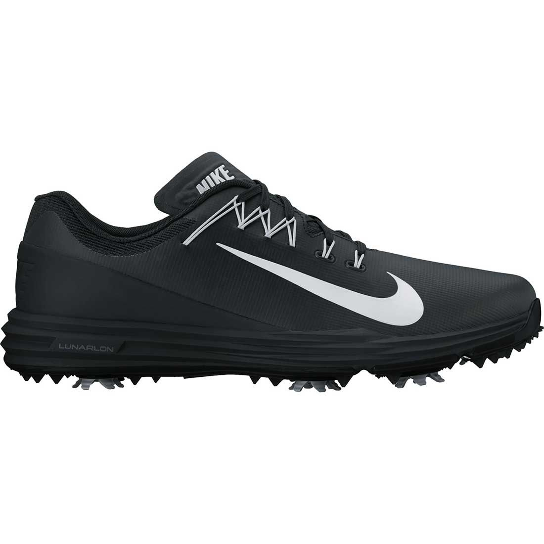 Buy Nike Lunar Command 2 Golf Shoes Black White Golf Discount
