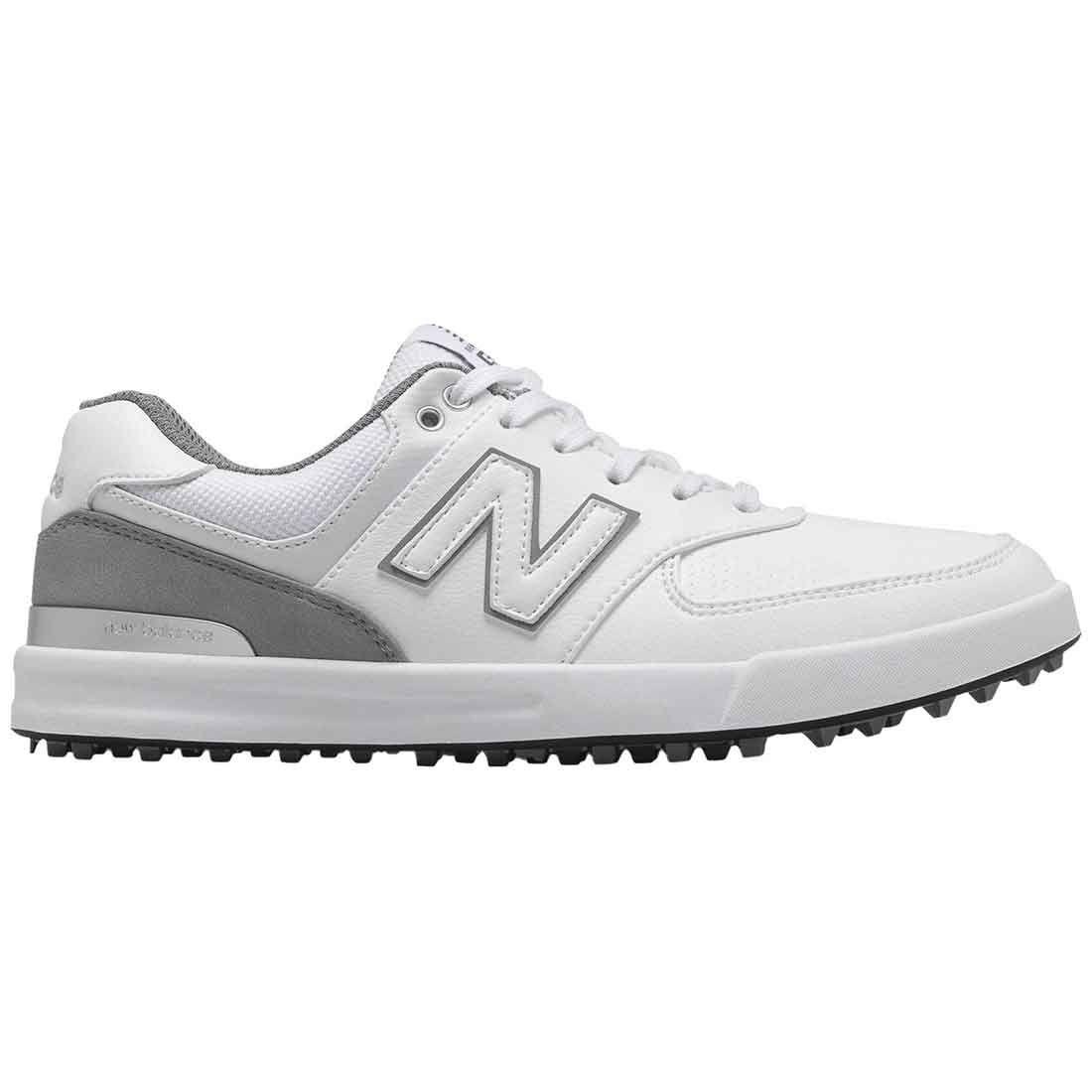 New Balance Women's 574 Greens Golf Shoes White