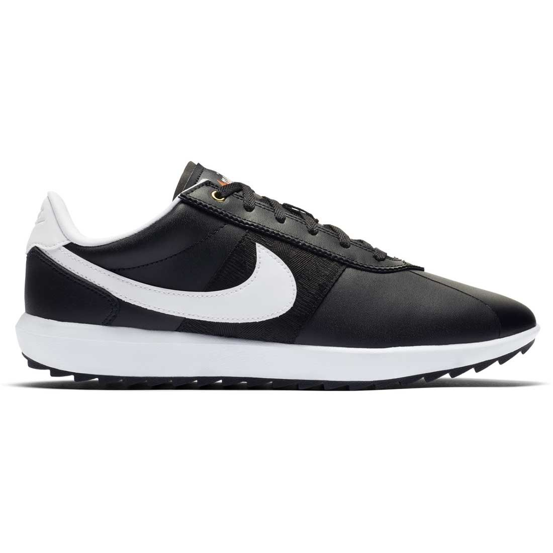 Sympton encuentro lema  Buy Nike Women's Cortez G Golf Shoes Black/White/Gold | Golf Discount