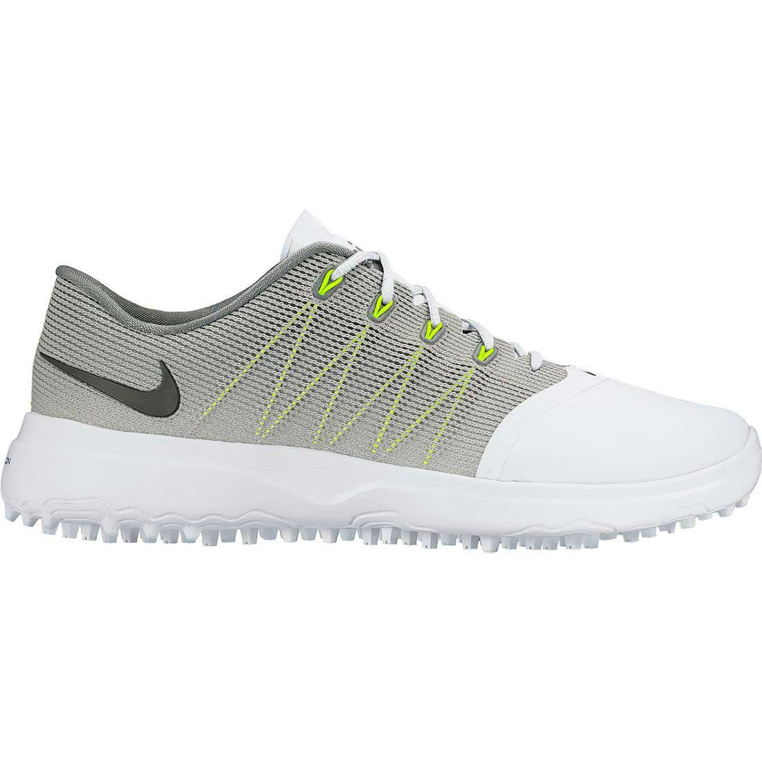 Buy Nike Women S Lunar Empress 2 Golf Shoes White Cool Grey Golf Discount