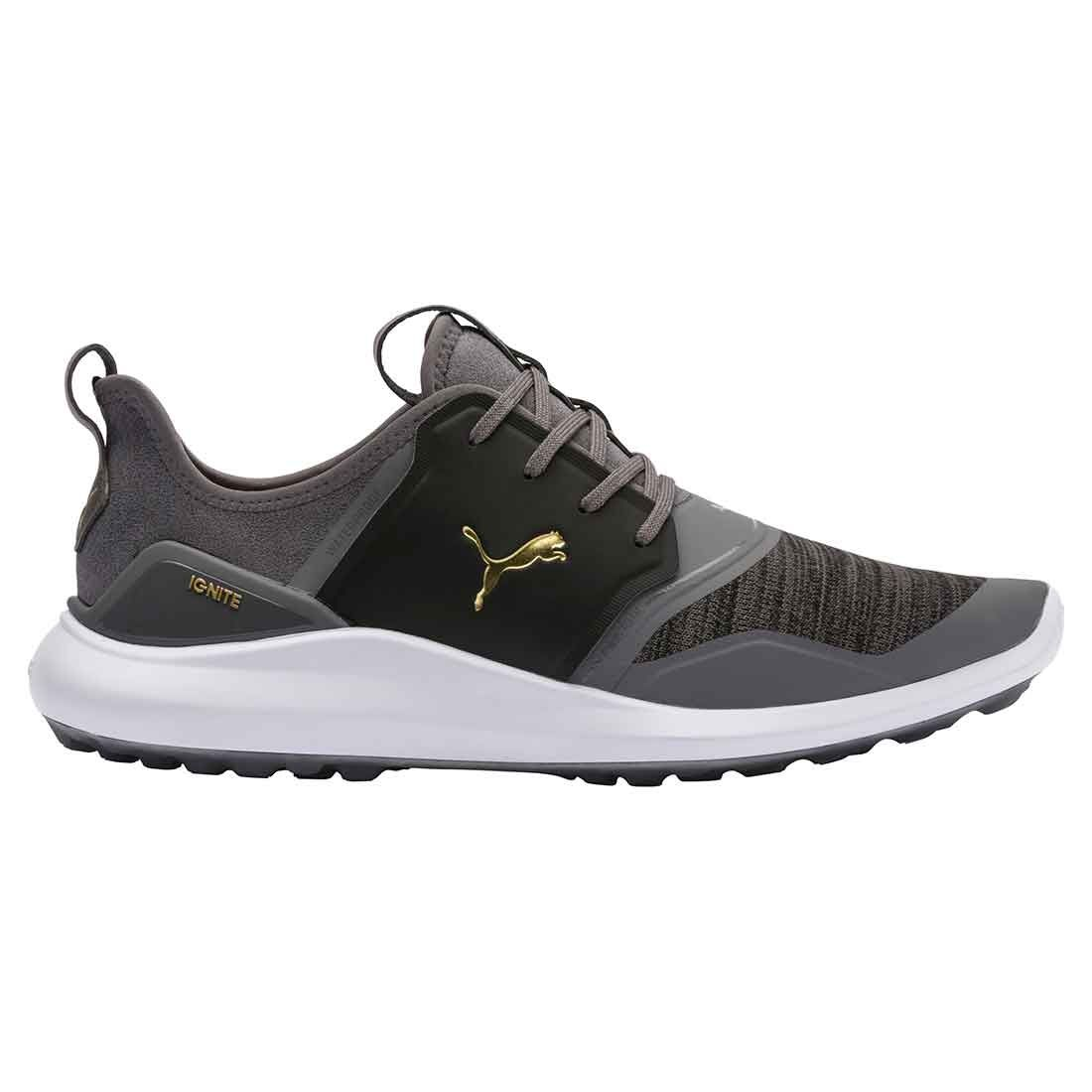 Buy Puma Ignite Nxt Lace Golf Shoes Quiet Shade Gold Golf Discount