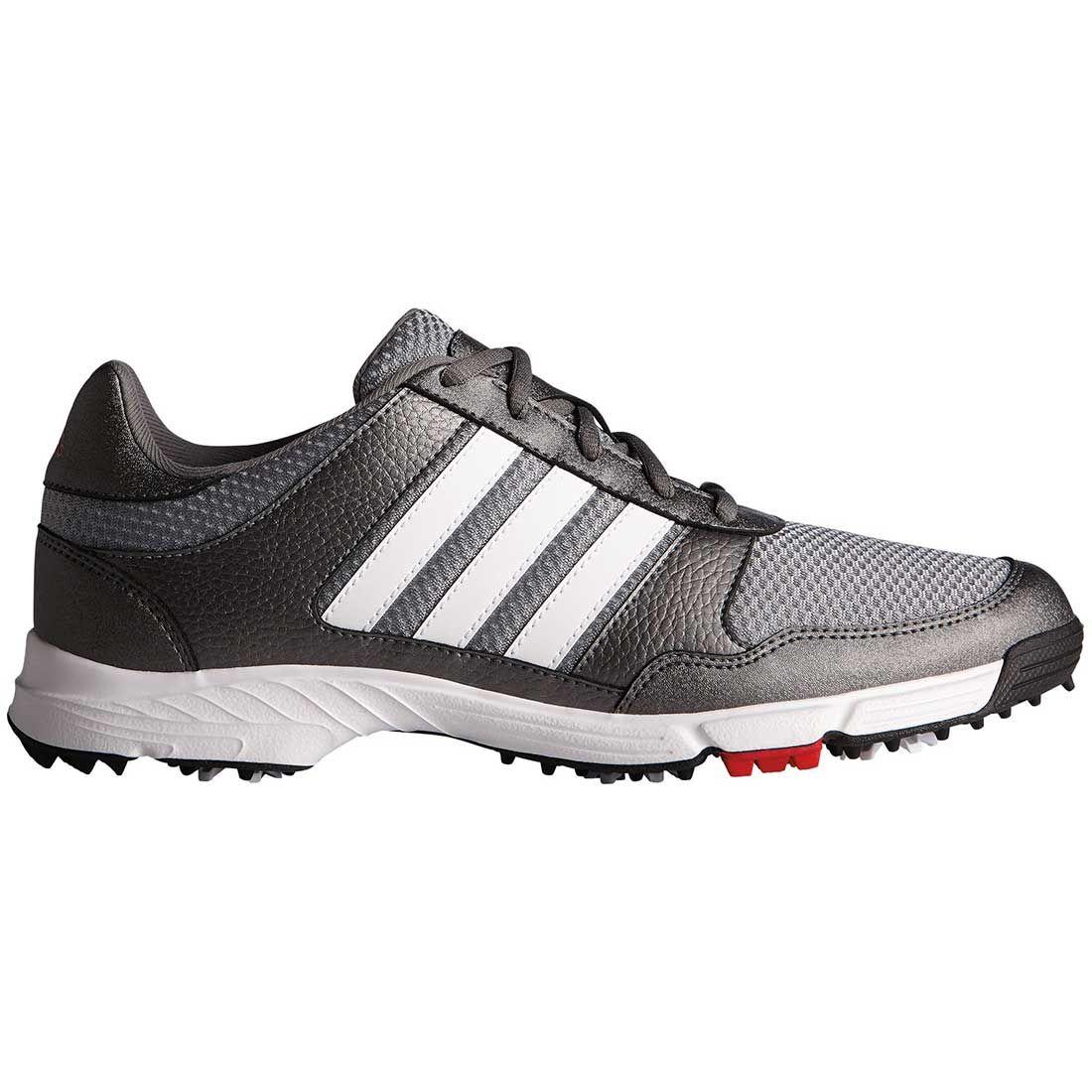 Buy Adidas Tech Response Golf Shoes Iron White Black Golf Discount
