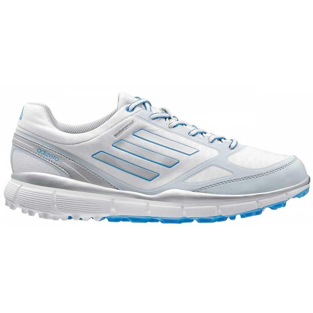 Buy Adidas Women's AdiZero Sport 3 Golf Shoes White/Silver   Golf ...