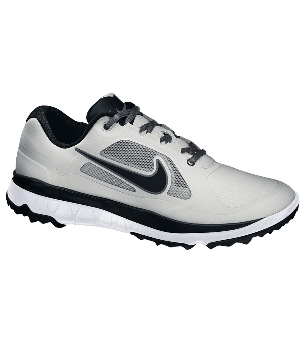 Nike Air Rival Golf Shoe White Silver