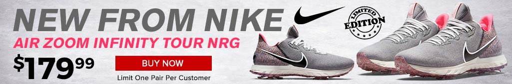 Nike Air Zoom Infinity Tour NRG Golf Shoes at GolfDiscount.com