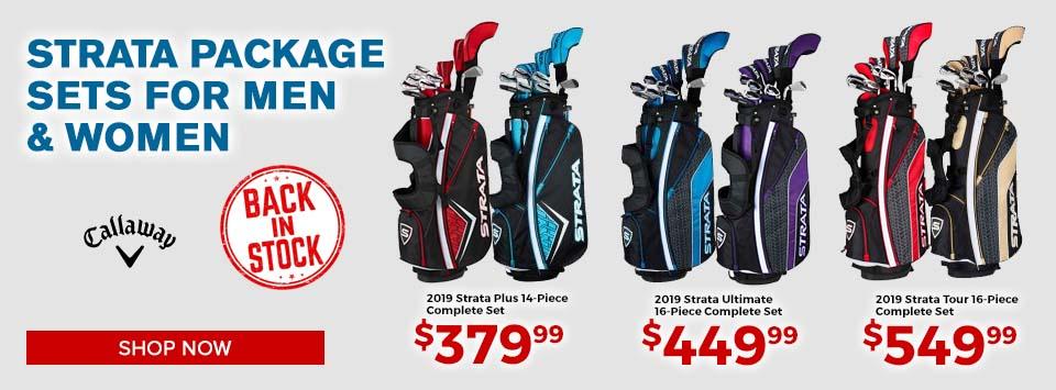 Callaway Strata Complete Sets at GolfDiscount.com