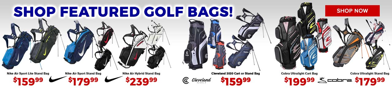 Featured Golf Bags at GolfDiscount.com