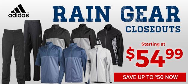 Adidas Raingear at GolfDiscount.com