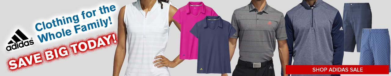 Closeout Adidas Golf Apparel at GolfDiscount.com
