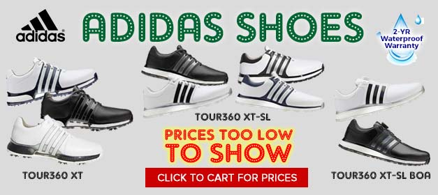 Adidas Tour 360 XT Golf Shoes at GolfDiscount.com