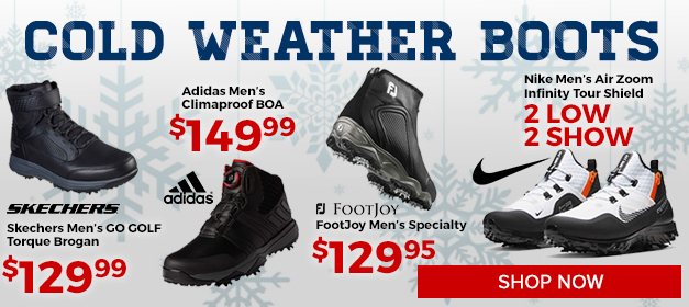 Rain and Cold Weather Golf Boots at GolfDiscount.com