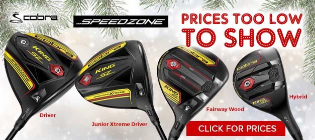 Cobra SpeedZone Golf Clubs at GolfDiscount.com