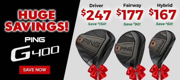 Ping G400 Golf Clubs at GolfDiscount.com