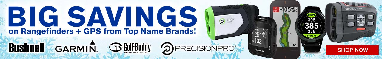 Rangefinders, GPS and Electronics at GolfDiscount.com