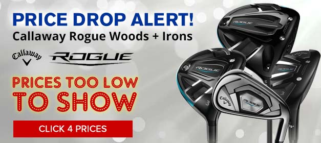 Callaway Rogue Golf Clubs at GolfDiscount.com