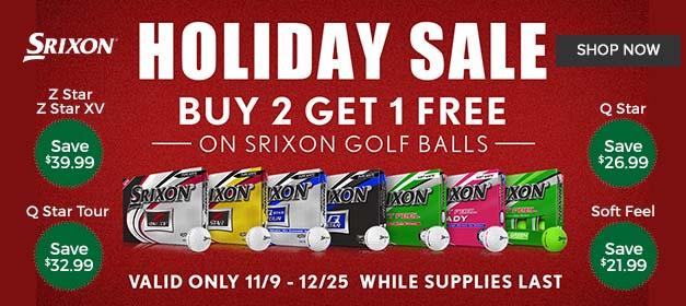 Srixon Golf Ball Promotion Buy 2 Get 1 Free at GolfDiscount.com