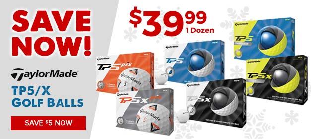 TaylorMade TP5 Golf Balls at GolfDiscount.com