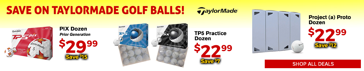 TaylorMade Golf Balls at GolfDiscount.com