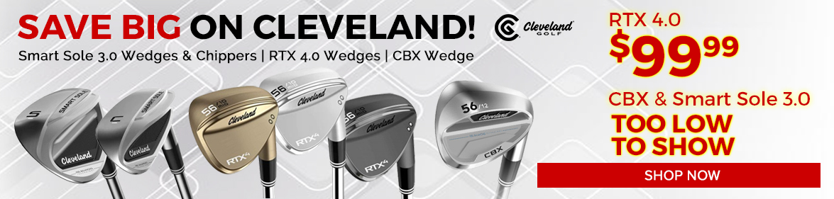 Cleveland Golf Wedges at Golf Discount