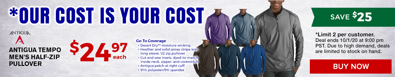 Our Cost is Your Cost at GolfDiscount.com